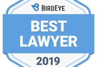BirdEye's Best Lawyer 2019 Award