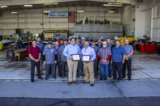 AeroGuard Flight Training Center Recognized With 2 AMT Diamond Awards of Excellence
