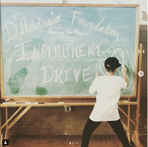 Ace Hotel DTLA Plays Host to the D'Addario Foundation Instrument Drive on July 29