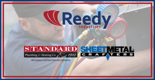 Reedy Industries Acquires Canton, OH's Standard Plumbing & Heating/Sheet Metal Crafters