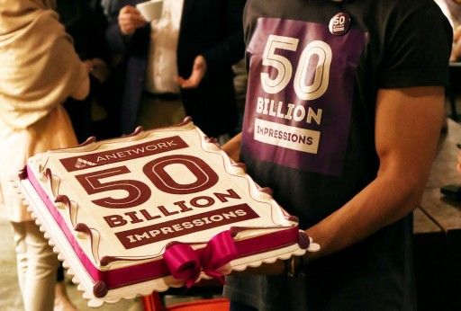 Anetwork's 50 Billion Celebration and RSS Campaign Service Launch