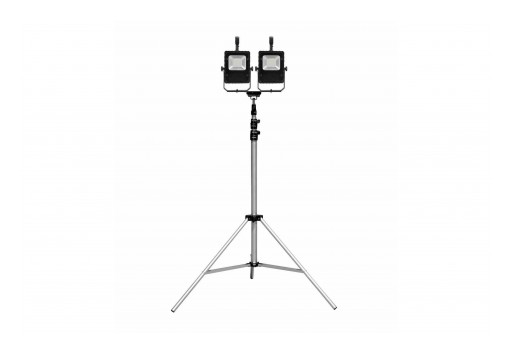 Larson Electronics Releases Tripod Mounted Rechargeable LED Work Lights, 2,000 Lumens, IP67 Rated