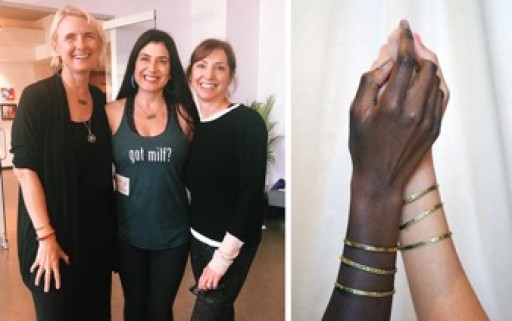 Elizabeth Gilbert and Acclaimed Authors 'Wax Poetic,' Release Catchy Cool Cuffs That Give Back