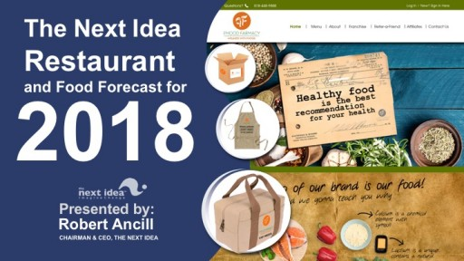 The Next Idea Restaurant and Food Forecast, 2018