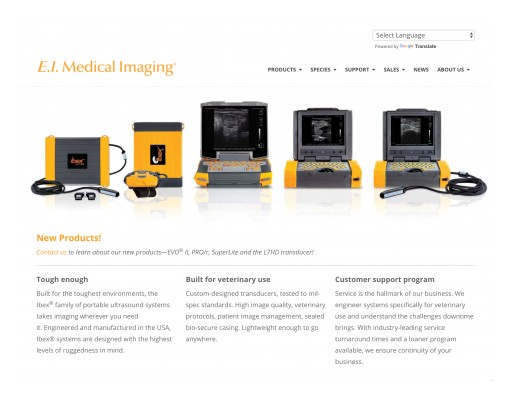 E.I. Medical Imaging Announces the Launch of New Website