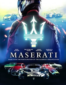 MASERATI: A HUNDRED YEARS AGAINST ALL ODDS Official Poster Art