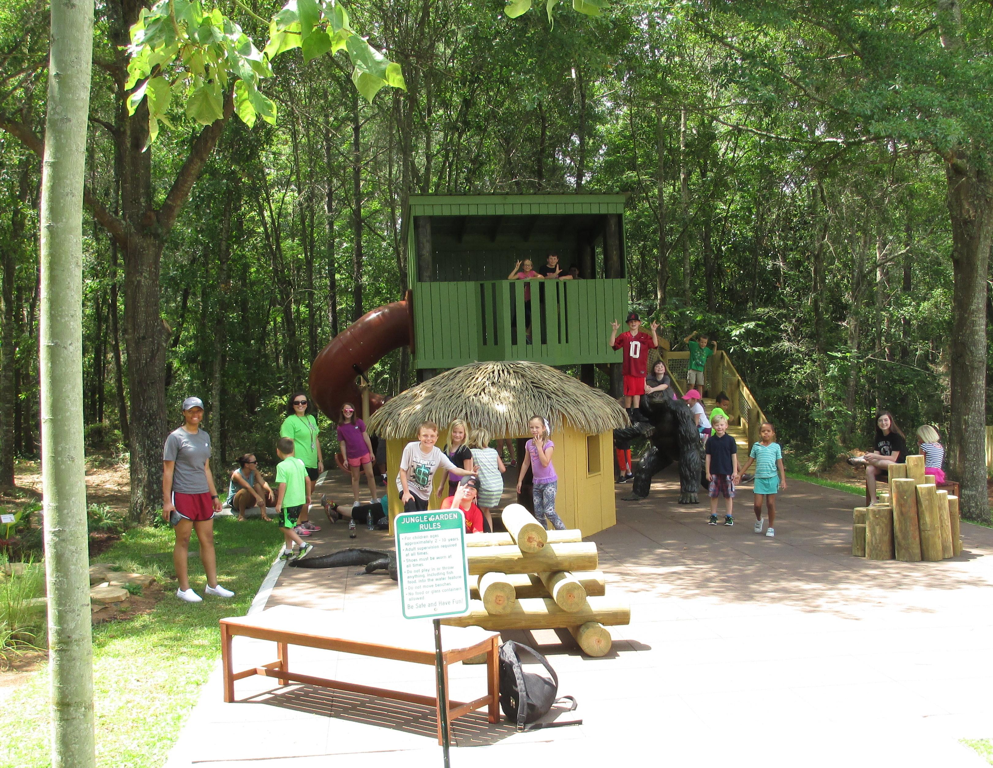 Alabama Botanical Gardens Adds Children S Jungle Garden With
