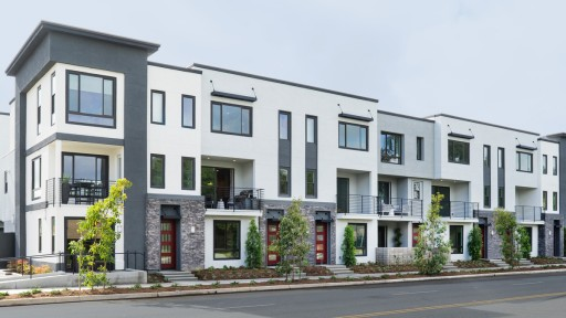 LUX Irvine Boutique Townhomes Now Open