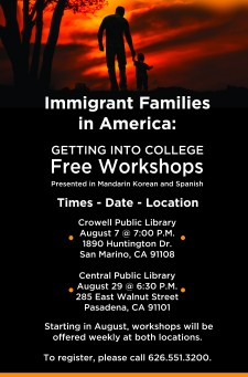 Immigrant Families In America: Getting Into College