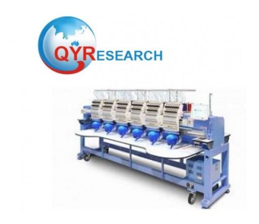 Multi-Head Embroidery Machine Market Forecast 2019-2025: QY Research
