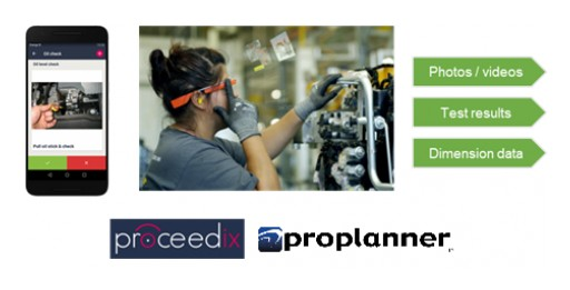 Proplanner and Proceedix Partner to Connect Smart Glasses to Factory Floor Systems