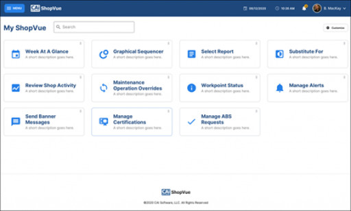 ShopVue Modernizes Control Center UI to Enhance the Customer Experience