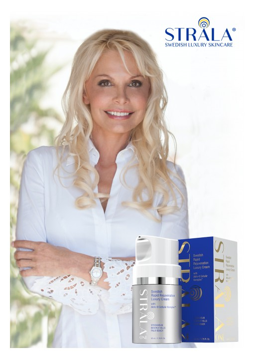 Swedish TV Star, Successful Entrepreneur Launches Rejuvenating One Bottle Skincare Routine in US: Stråla One