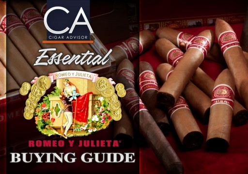Romeo Y Julieta Cigars Tasting Guide Spotlights 11 Popular Vitolas