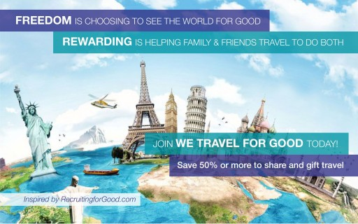 We Travel for Good, a Personal Funding Service Launches to Help People Gift and Share Travel