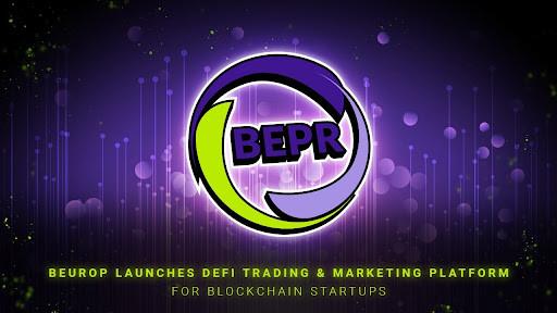 BEUROP Launches DeFi Trading & Marketing Platform for Blockchain Startups