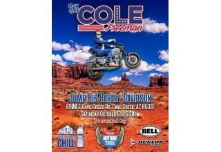 Northern Chill Naturally Alkaline Water sponsors Cole Freeman Daredevil jump in Arizona