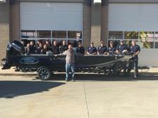 Jarrett Edwards raises money for families of first responders