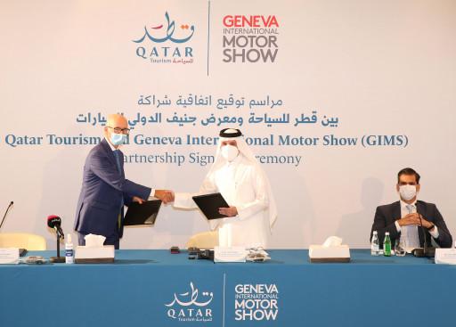 Qatar Tourism and The Geneva International Motor Show establish partnership to create new Qatar Geneva International Motor Show