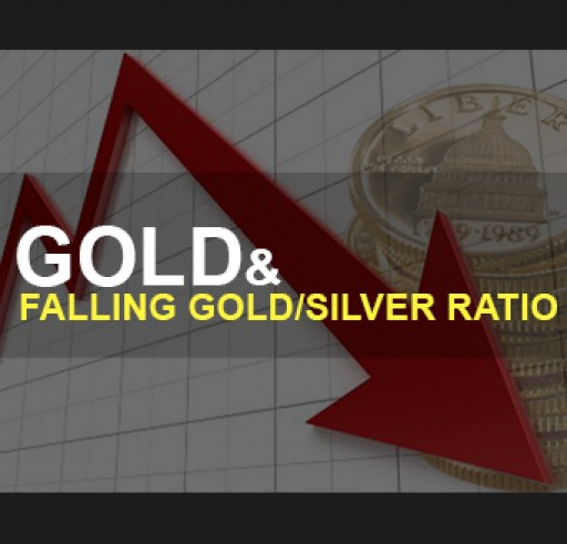 Gold and a Falling Gold/Silver Ratio