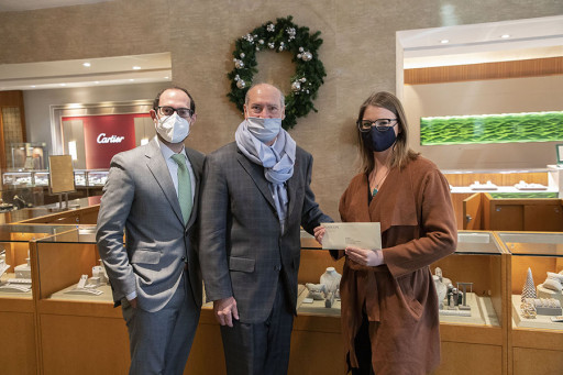 Hamilton Jewelers Makes Holiday Charitable Donations