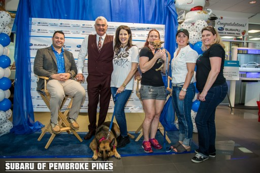 Subaru of Pembroke Pines Hosts 3rd Annual 'Dog Appreciation Pawty' in Support of Pooches in Pines