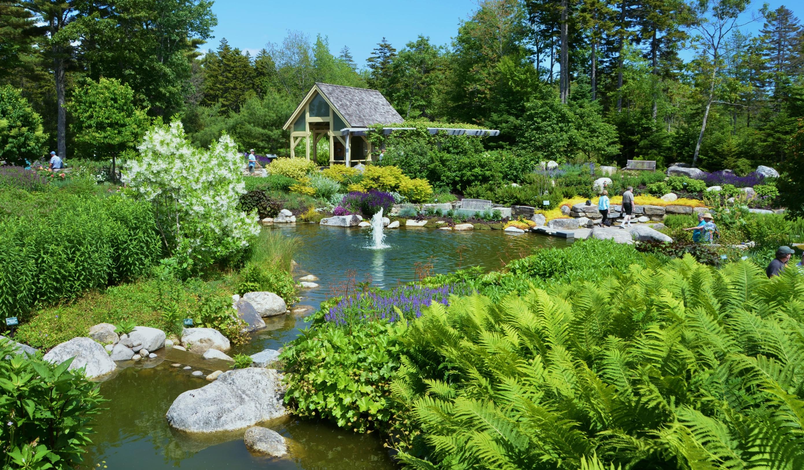 Merveilleux Longwood Gardens Coastal Maine Botanical Gardens ...