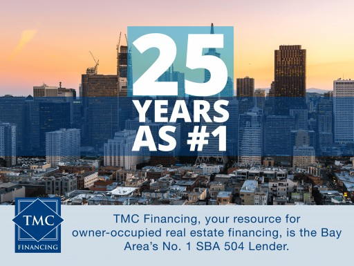 TMC Financing Retains Title as No. 1 504 Lender in the Bay Area for 25th Year