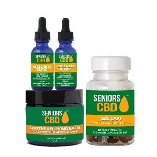 Northsight Capital Granted Exclusive Rights for Sale and Distribution of Seniors Brand CBD Oil