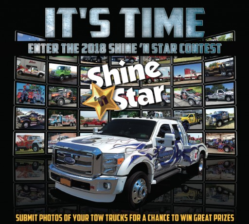 Annual Shine 'N Star Tow Truck Photo Beauty Contest Gets Underway