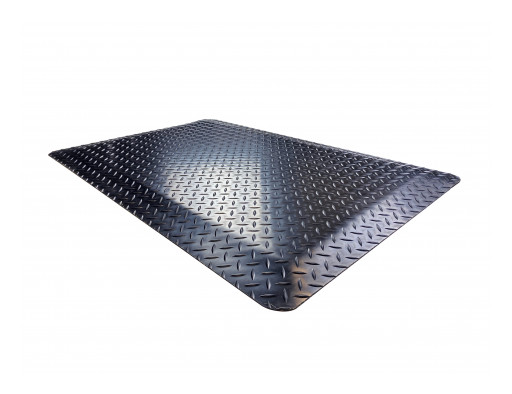 Wearwell® Introduces: Rubber Diamond Plate