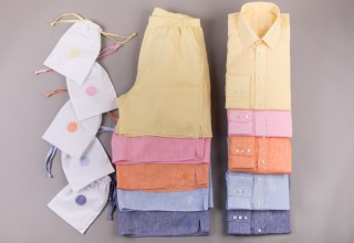 Gatsby's launches with line of monogrammed made-to-measure shirts and boxers