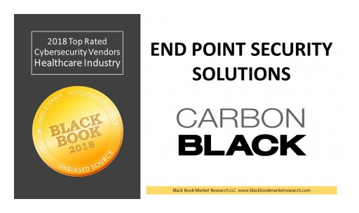 Carbon Black Ranks Top End Point Security Solutions, 2018 Black Book Market Research User Survey