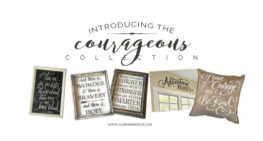 Old Barn Rescue Company Announces Their Fall Courageous Collection