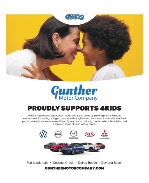 Gunther Motor Company Invests $10,000 in 4KIDS for Help in Combating the Effects of COVID-19 on Our Community's Youth
