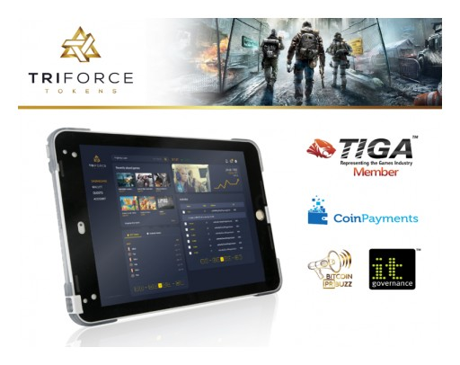 Blockchain Gaming Startup TriForce Tokens Announces Pre ICO on 14th of October