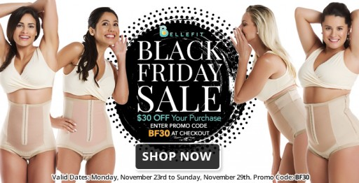 Bellefit Announces a Week of Black Friday Savings
