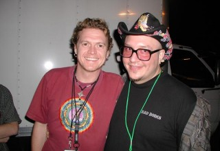 Rick Allen and Lars Tetens