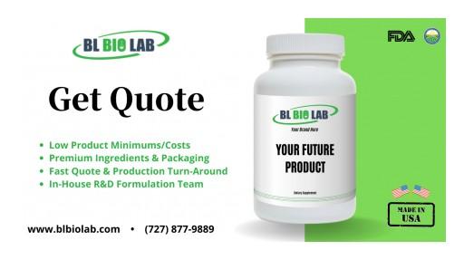 BL Bio Lab Improves Capsules, Tablet & Powder Manufacturing Capacity in 2020