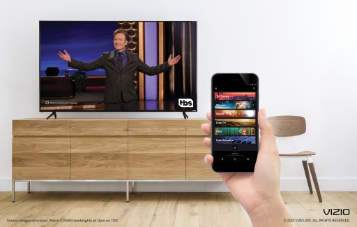 VIZIO SmartCast Mobile(TM) Integrates Content From Popular Turner Networks