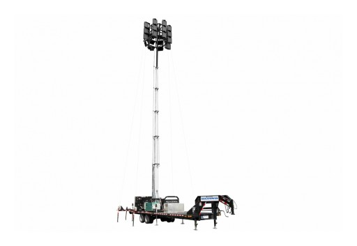 Larson Electronics LLC Releases Third Generation Megatower for Oil Field Rentals