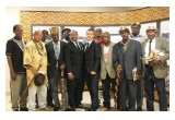 Tribal chiefs and headmen at the New Year's celebration at the Church of Scientology Pretoria