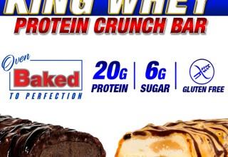 New King Whey Protein Crunch Bar