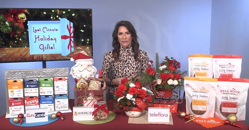 Shopping Expert Claudia Lombana Share Last-Minute Gift Ideas With TipsOnTV