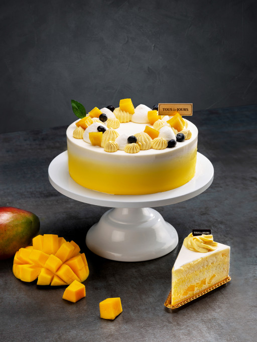 TOUS Les JOURS to Launch Mango Cloud Cake, Honey Cheese Mochi Bread, and More