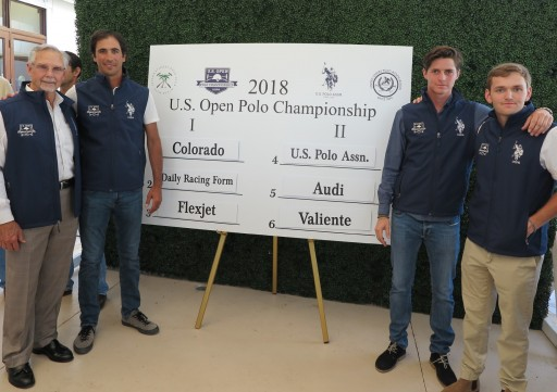 Team U.S. Polo Assn. Competes for the U.S. Open Polo Championship®