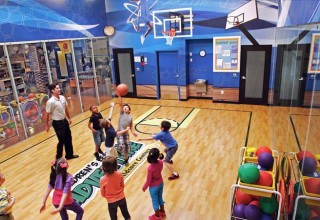 Indoor Gym at Children's Learning Adventure