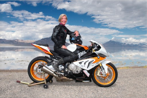 Facebook Executive and 12-Time Motorcycle Speed Record Holder Erin Sills Races to 219.3 MPH on Her BMW S1000 RR, Announces San Diego BMW Motorcycles