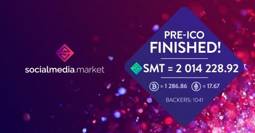 SocialMedia.Market Closed the Soft Cap During the Pre-ICO