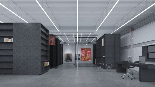 Unveiling of New Boris Lurie Art Foundation Space